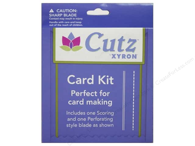 Xyron Creatopia Cutting Cutz Blade Card Kit 1 2pc