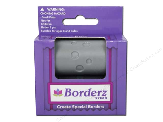 Xyron Creatopia Embossing Patternz Border Dots 1