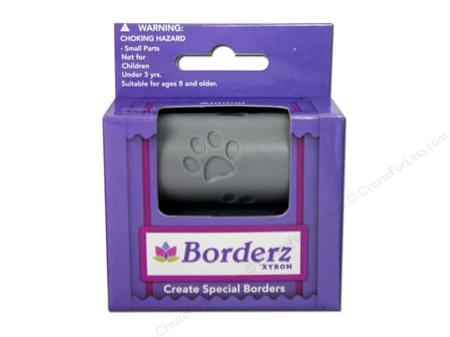 Xyron Creatopia Embossing Patternz Border Paws 1