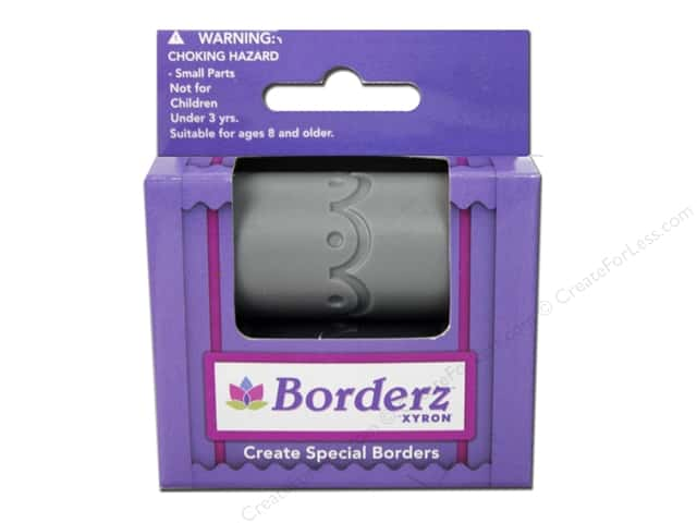 Xyron Creatopia Embossing Patternz Border Scallop 1