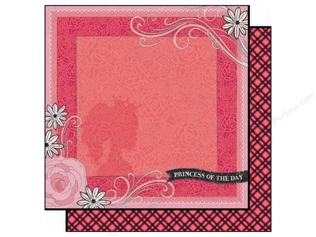 Best Creation 12 x 12 in. Paper Sixteen Candles Collection Princess Of The Day (25 sheets)
