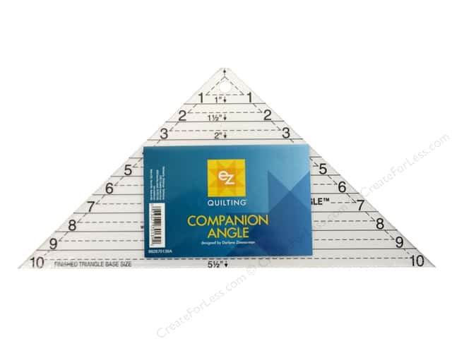 EZ Quilting Companion Angle Acrylic Template 10 in.