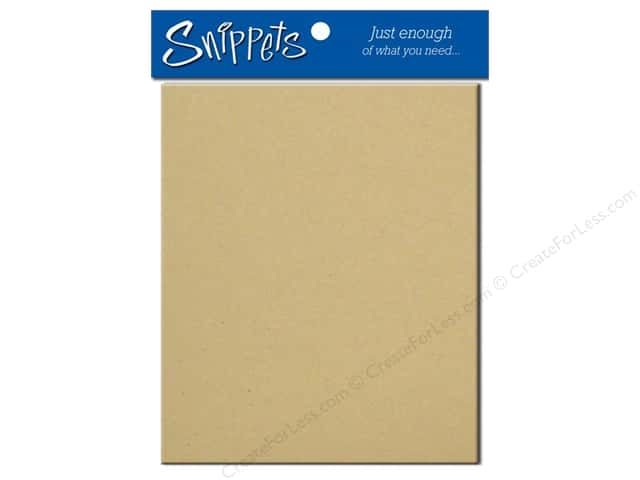 4 1/4 x 5 1/2 in. Envelopes by Paper Accents #304 Kraft 3 pc.