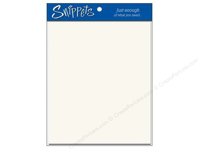 4 1/4  x 5 1/2 in. Envelopes by Paper Accents 3pc. #401 Linen White