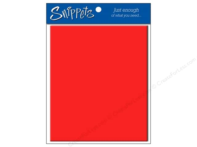 4 1/4 x 5 1/2 in. Envelopes by Paper Accents #101 Red 5 pc.