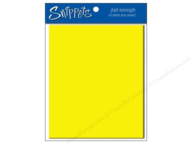 4 1/4 x 5 1/2 in. Envelopes by Paper Accents #105 Canary Yellow 5 pc.