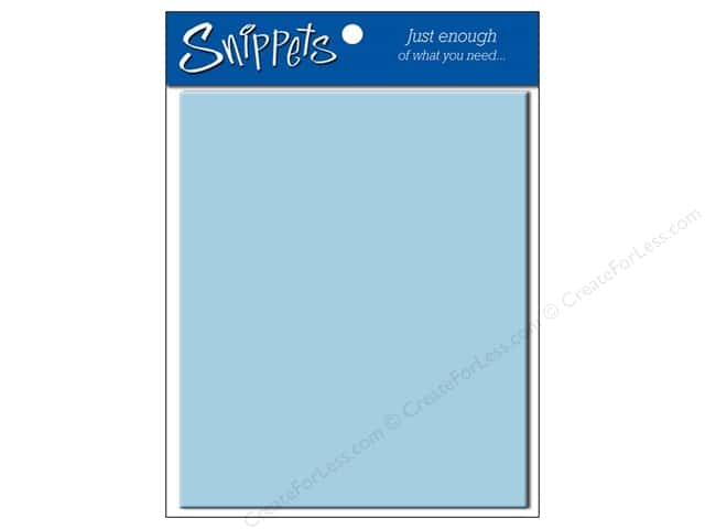 4 1/4 x 5 1/2 in. Envelopes by Paper Accents #116 Light Blue 5 pc.