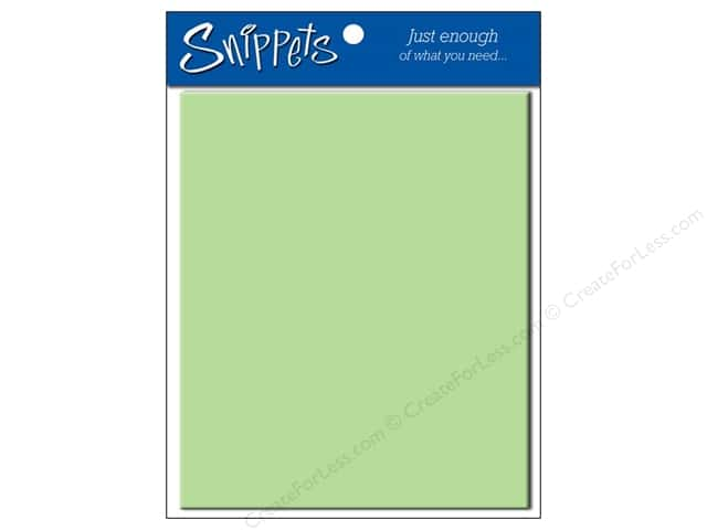 4 1/4 x 5 1/2 in. Envelopes by Paper Accents #118 Light Green 5 pc.