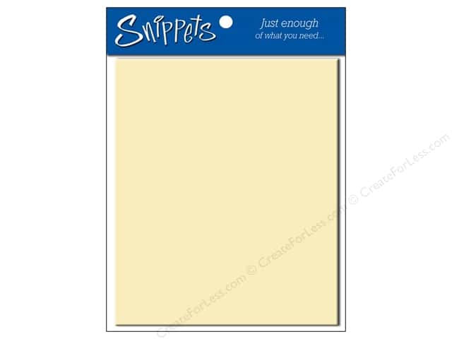 4 1/4 x 5 1/2 in. Envelopes by Paper Accent #119 Cream 5 pc.