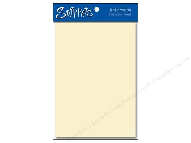 5 x 7 in. Envelopes by Paper Accents 5 pc. #119 Cream