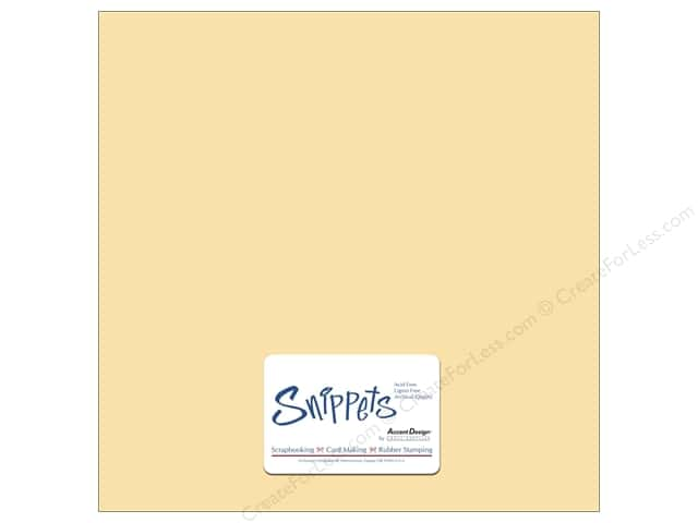 Cardstock 12 x 12 in. #1220 Smooth Ivory by Paper Accents 3 pc.
