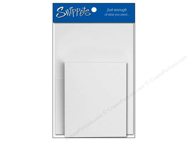 Paper Accents 2 1/2 x 3 1/2 in. Blank Card & Envelopes 3 pc. Special Occasion White