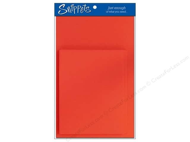 Paper Accents 4 1/4 x 5 1/2 in. Blank Card & Envelopes 3 pc. Red