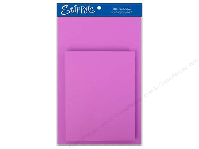 Paper Accents 4 1/4 x 5 1/2 in. Blank Card & Envelopes 3 pc. Purple