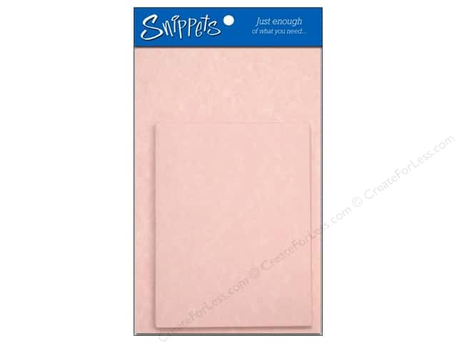 4 1/4 x 5 1/2 in. Blank Card & Envelopes by Paper Accents 3 pc. Pink Parchment