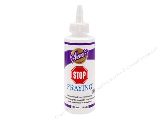 Aleene's Stop Fraying Glue 4 oz.