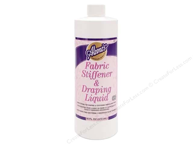 Aleene's Fabric Stiffener & Draping Liquid 16 oz.