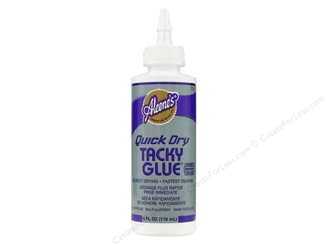 Aleene's Quick Dry Tacky Glue 4 oz.