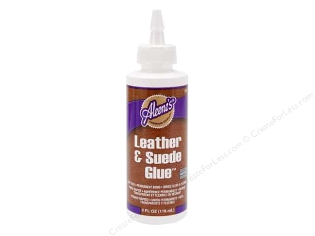 Aleene's Leather and Suede Glue 4 oz.
