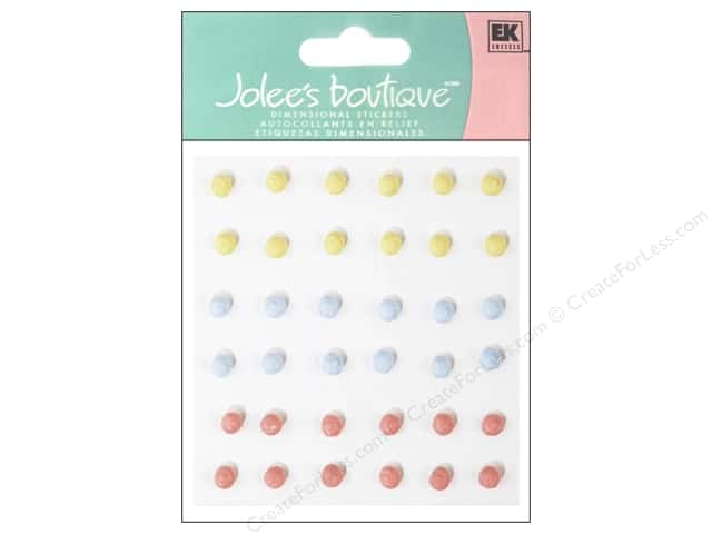 Jolee's Boutique Stickers Confection Icing Dots Multicolor