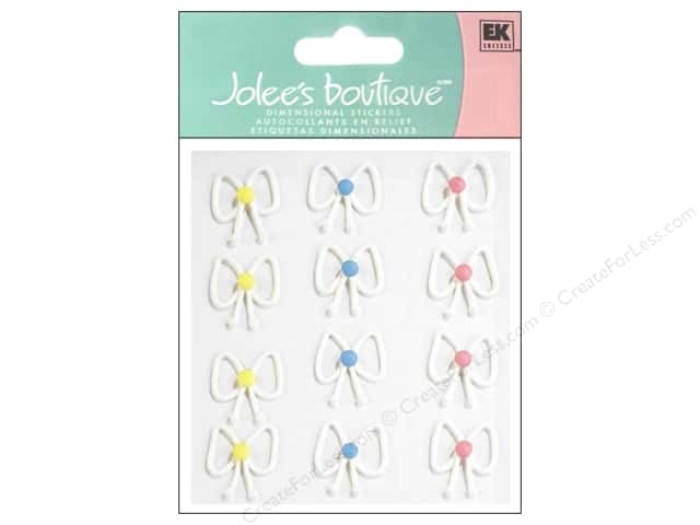 Jolee's Boutique Stickers Confection Icing Bows