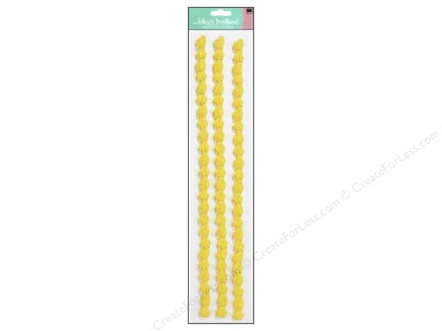 Jolee's Boutique Stickers Confection Icing Border Yellow