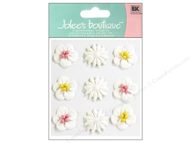 Jolee's Boutique Stickers Confection Icing Swirls White