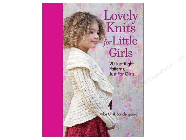 Taunton Press Lovely Knits For Little Girls Book