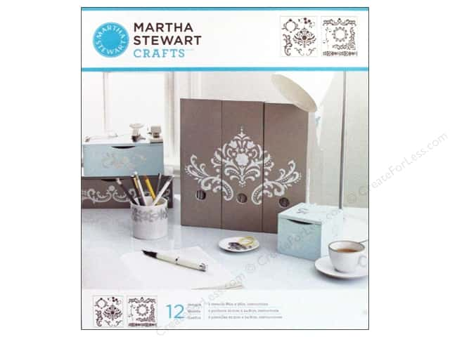 Martha Stewart Stencils by Plaid Flourish Medium