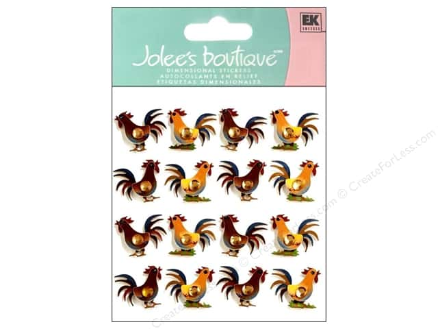 Jolee's Boutique Stickers Repeats Rooster