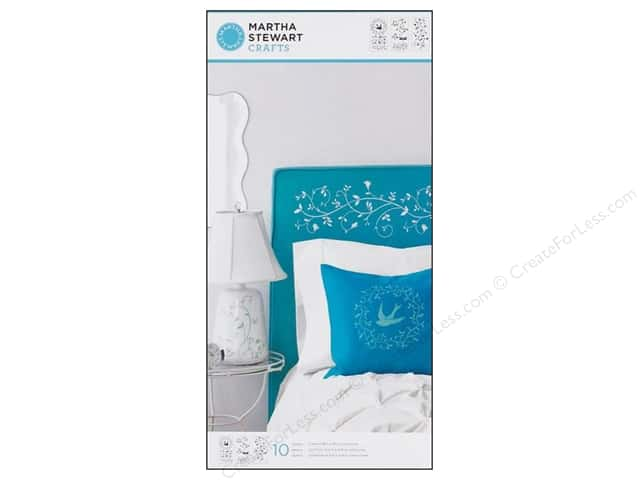 Martha Stewart Stencils by Plaid Tendrils Large