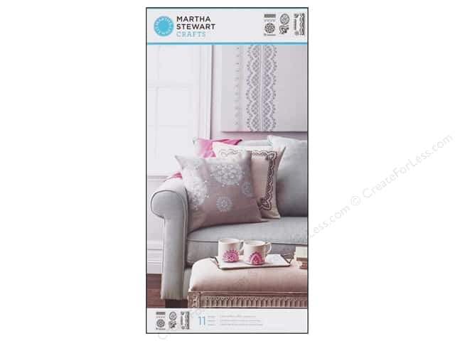 Martha Stewart Stencils by Plaid Cathedral Lace Large