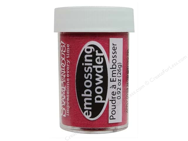 Stampendous Embossing Powder .92 oz. Ruby Red