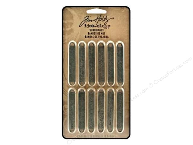 Tim Holtz Idea-ology Word Bands 12 pc.