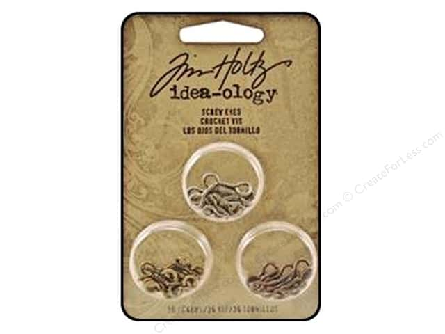 Tim Holtz Idea-ology Screw Eyes