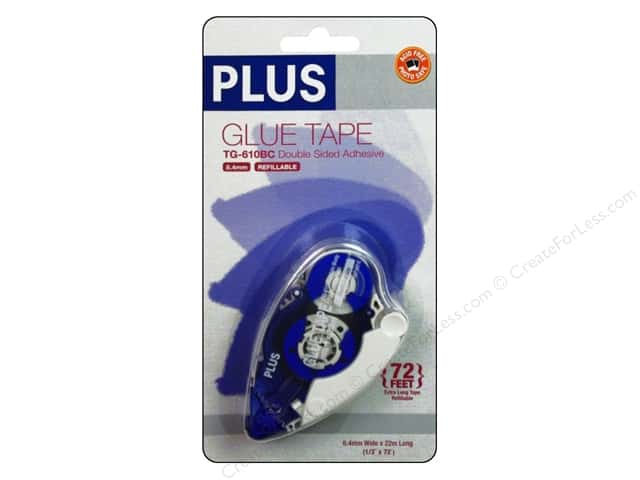 Plus Glue Tape 8.4 mm x 72 ft. Permanent