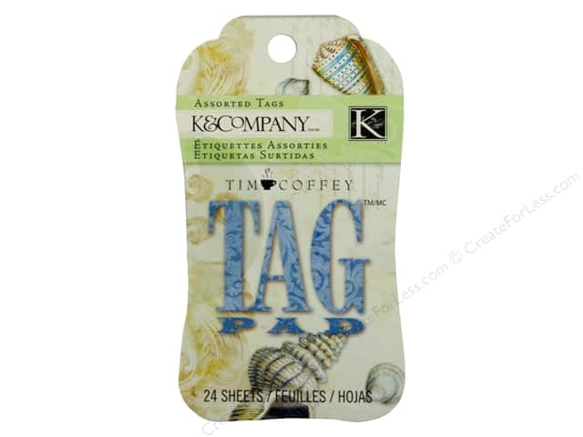 K&Company Tag Pad Tim Coffey Travel