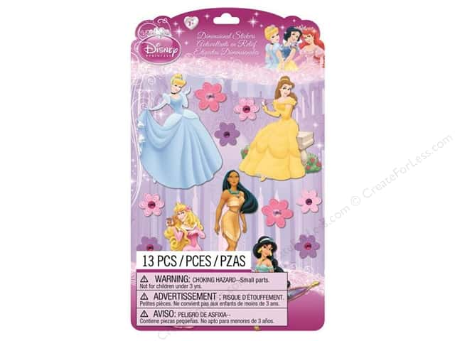 EK Disney Dimensional Stickers Princess 2