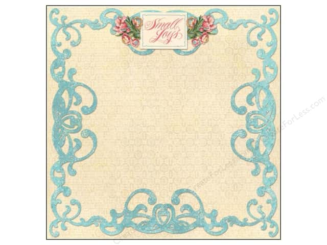 K&Company 12 x 12 in. Paper Merryweather Collection Small Joys (25 sheets)
