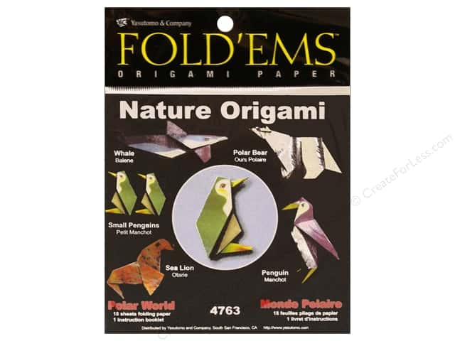 Yasutomo Fold Ems Origami Paper Nature Polar World