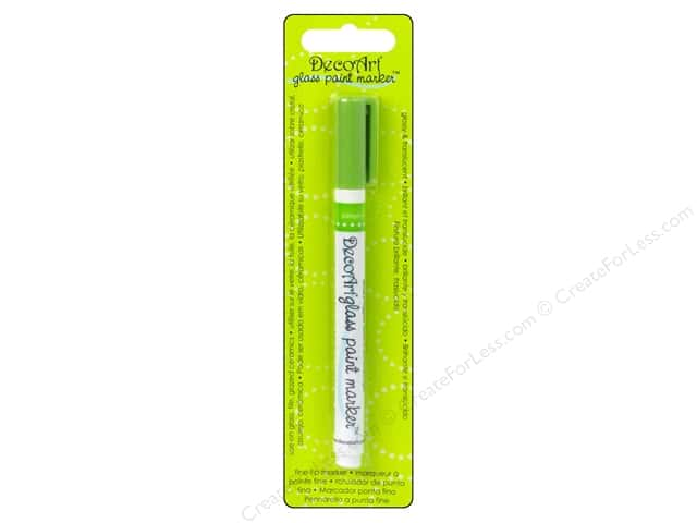 DecoArt Glass Paint Marker Citron