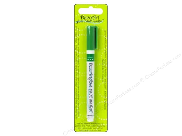 DecoArt Glass Paint Marker Green