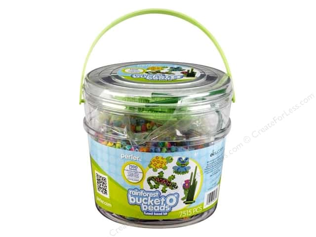 Perler Bucket o' Beads Rainforest