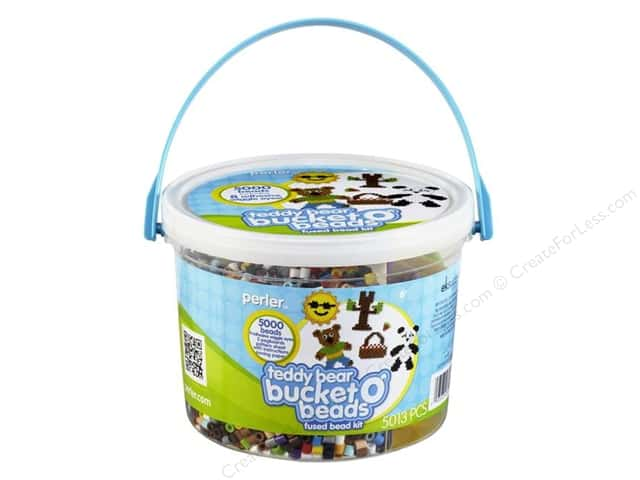 Perler Bucket o' Beads Teddy Bear