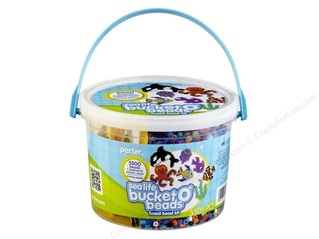 Perler Activity Bucket Sea Life