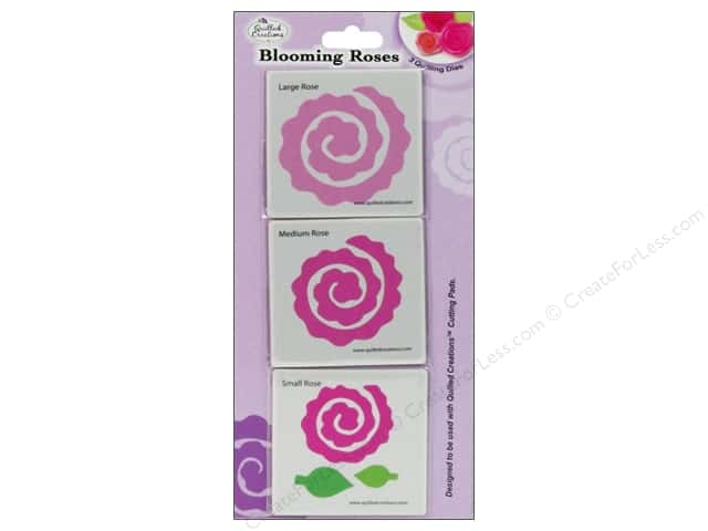 Quilled Creations Tools Quilling Dies Blooming Roses