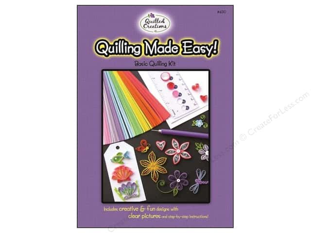 Quilled Creations Quilling Kit Made Easy