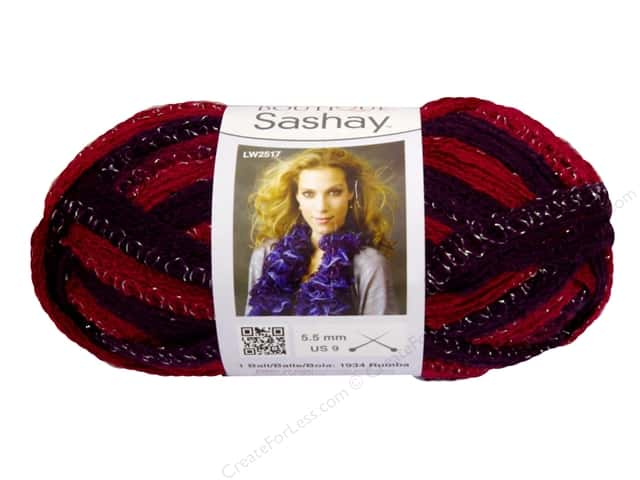 Red Heart Boutique Sashay Yarn #1943 Tango 30 yd.