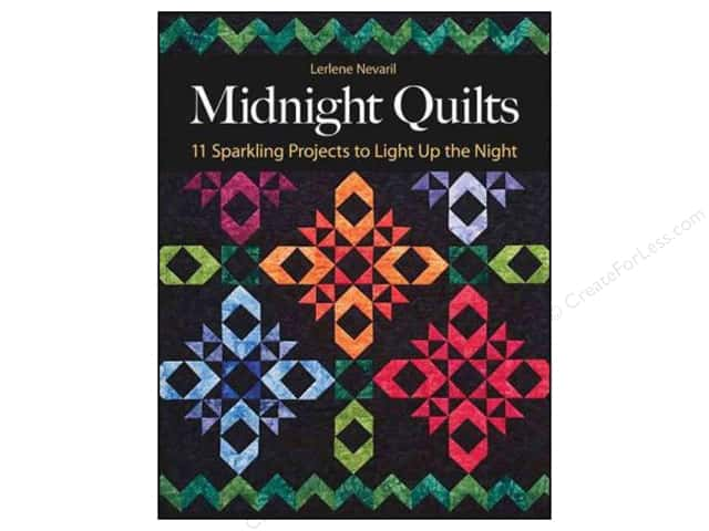 C&T Publishing Midnight Quilts Book by Lerlene Nevaril