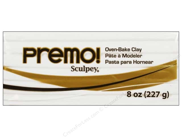 Premo! Sculpey Polymer Clay 8 oz. White